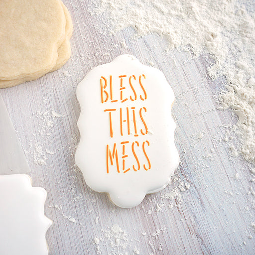 Bless This Mess Stencil