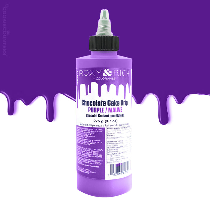 Chocolate Cake Drip - Purple