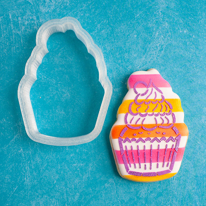 Cutie Cupcake Cookie Cutter