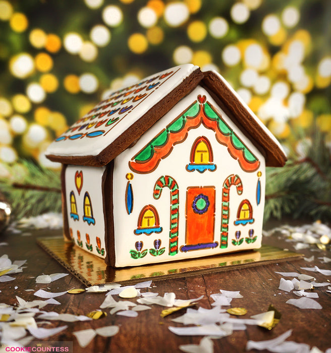 Gingerbread House - 4 Piece Stencil