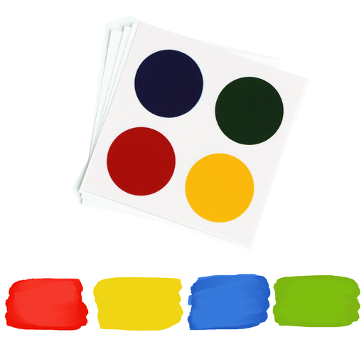 PYO Paint Palettes - Primary Colors