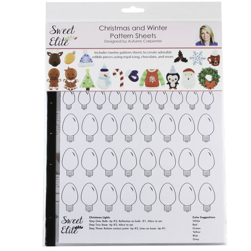 Sweet Elite Pattern Sheets - Christmas and Winter