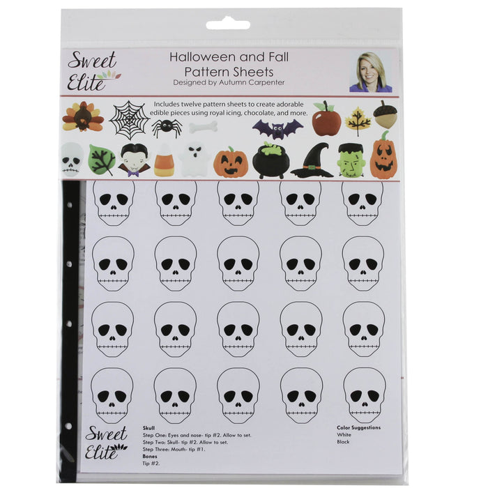Sweet Elite Pattern Sheets - Fall & Halloween
