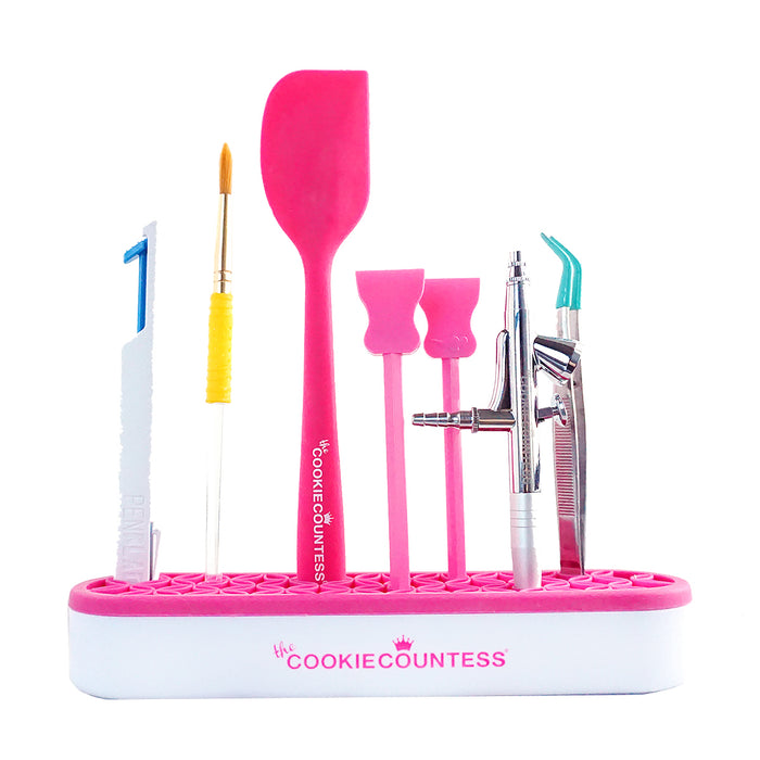 The Cookie Countess - Brush & Tool Holder