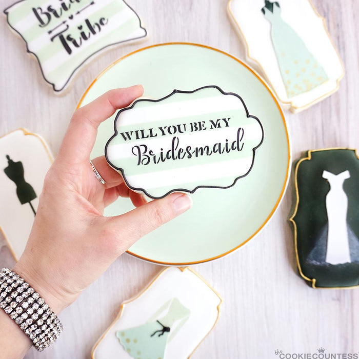 Will You Be My Bridesmaid Stencil