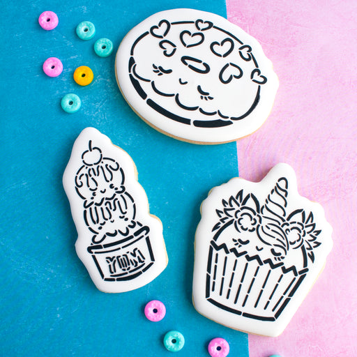 Sweet Treats  Cookie Cutter Set of 5