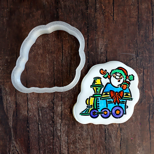 Christmas Train - Santa Engine Cookie Cutter