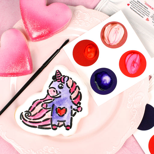 PYO Edible Paint Palettes - Valentine's Day