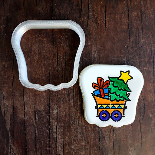 Christmas Train - Train Car Cookie Cutter