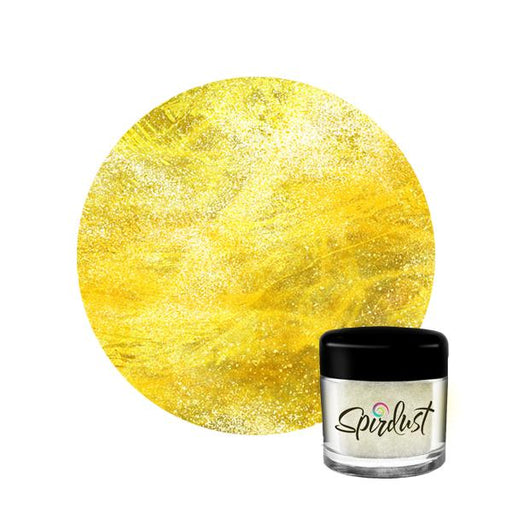 Cocktail Glitter - Yellow