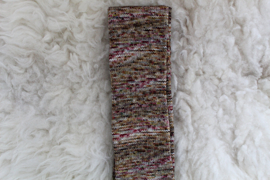 31 - Sock Tube - 64 Stitches - Ready to Ship - High Twist Merino Sock - Non-Superwash