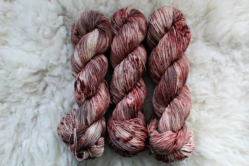 Apple Crumble - BFL Mohair (410 yds) - Fingering Weight - Non-Superwash