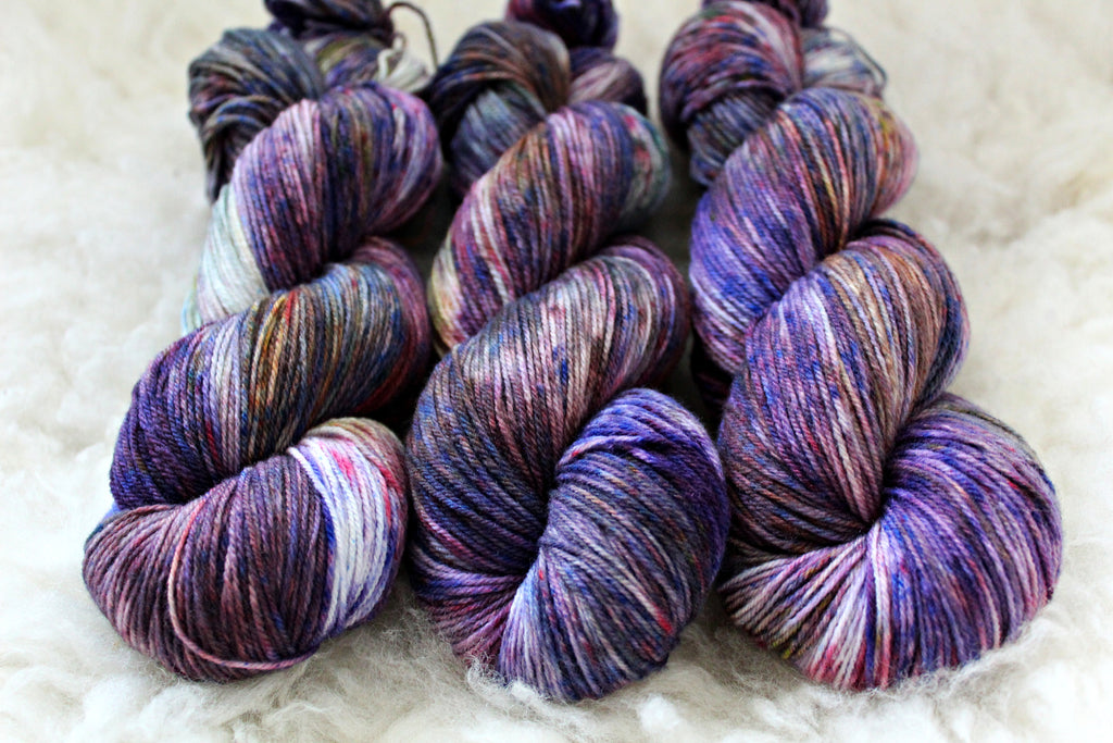 Aster & Allium - High Twist Merino Sock - Fingering Weight - Non-Superwash