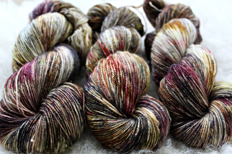 31 - BFL Mohair - Fingering Weight - Non-Superwash
