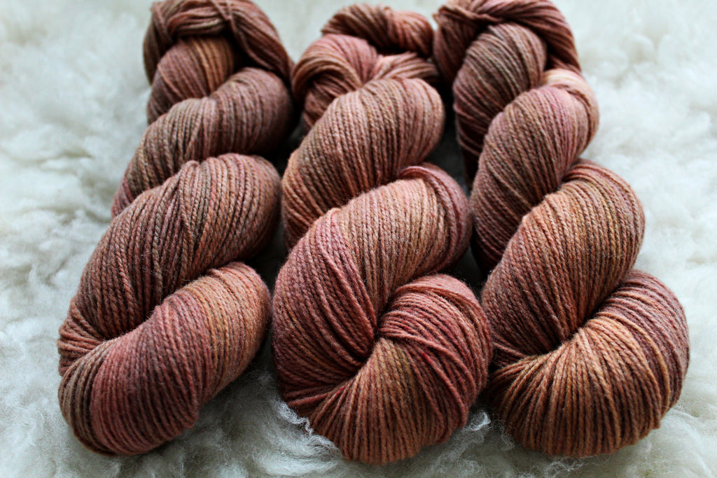 Dyed-to-Order - Briar Rose - Non-Superwash - Fingering, Sport & DK Bases