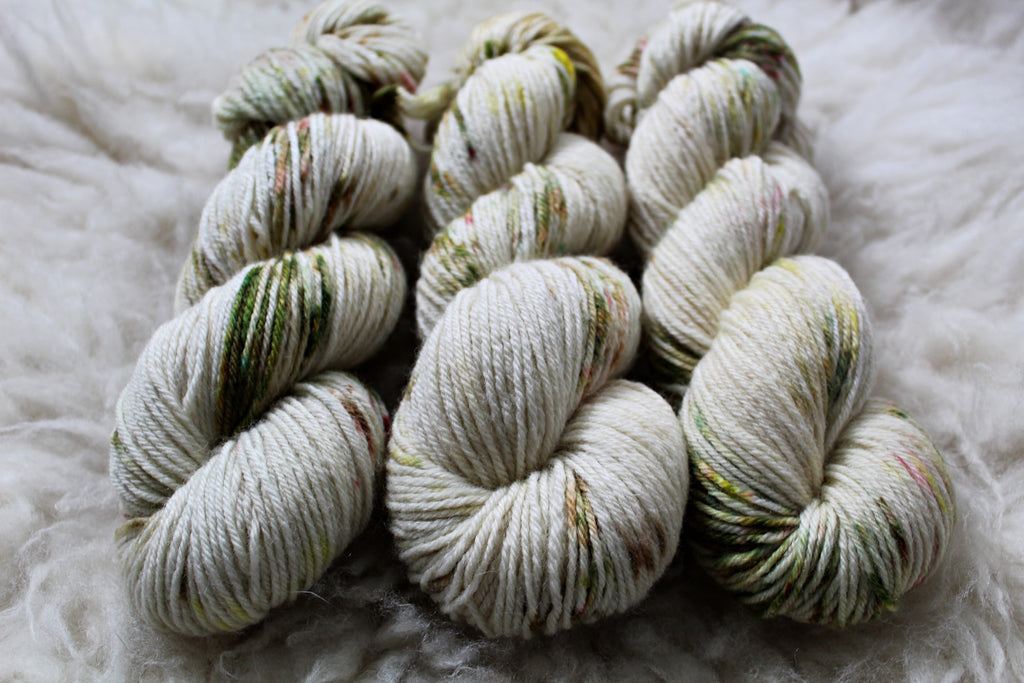 Dyed-to-Order - Dandelion Jelly - Non-Superwash - Fingering, Sport & DK Bases