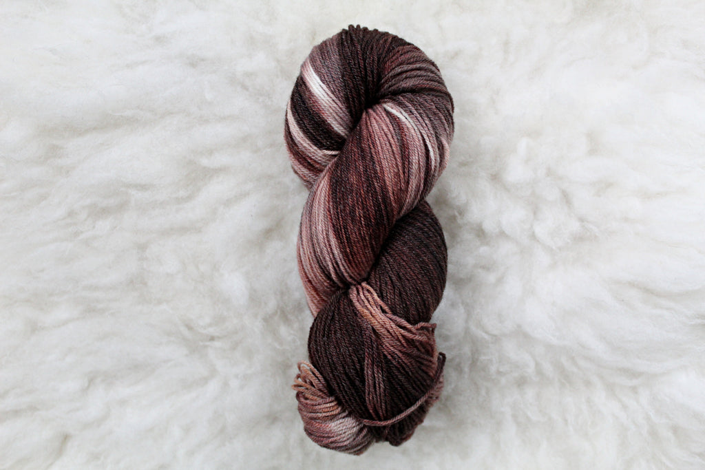 French Silk - Merino Tencel Sock - Fingering Yarn - Non Superwash