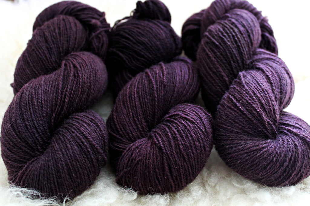 Galaxy - BFL Mohair - Fingering Weight - Non-Superwash