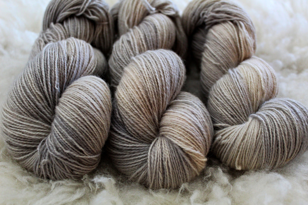 Ghost - BFL Mohair - Fingering Weight - Non-Superwash