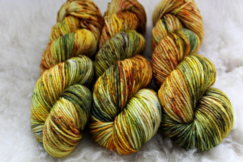 Goldenrod - BFL DK - Bluefaced Leicester - DK Weight - Non Superwash