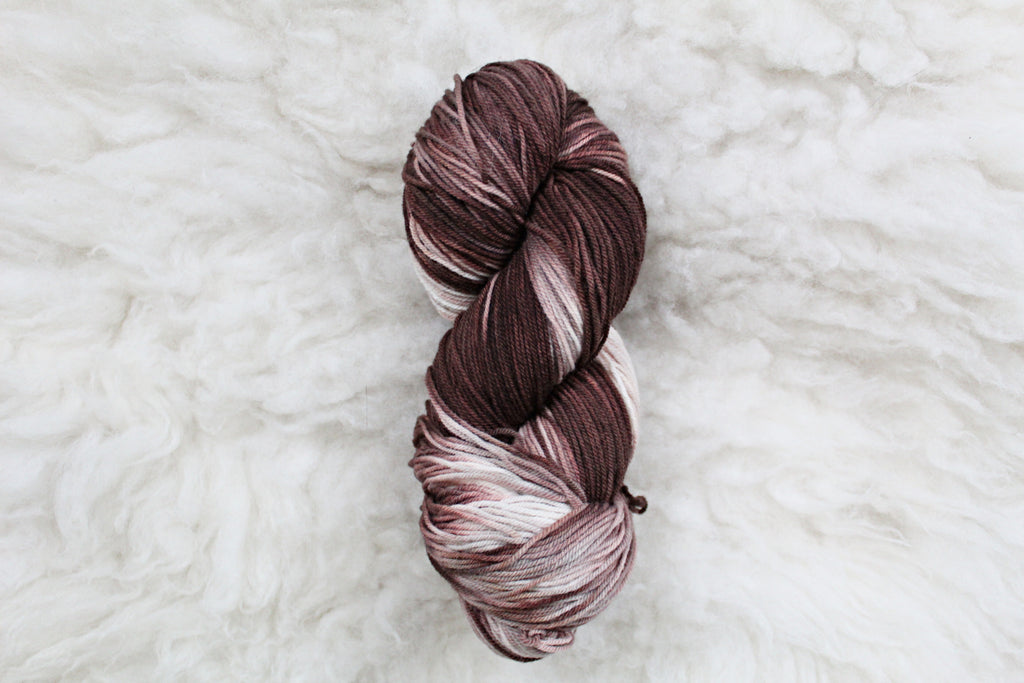 French Silk - High Twist Merino Sock - Fingering Weight - Non Superwash