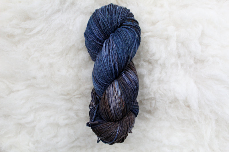Dyed-to-Order - Nobody - Non-Superwash - Fingering, Sport & DK Bases