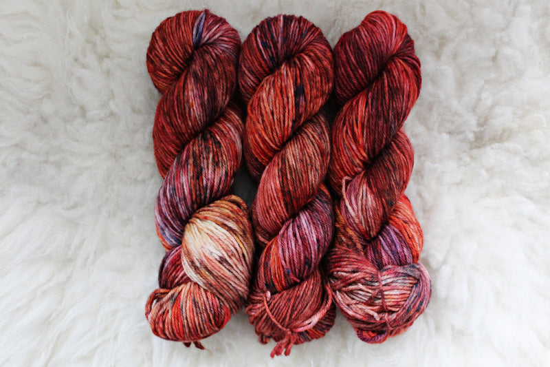 Japanese Maple - BFL DK - Bluefaced Leicester - DK Weight - Non Superwash