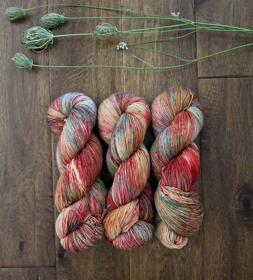 Kelly T - BFL Mohair - Fingering Weight - Non-Superwash