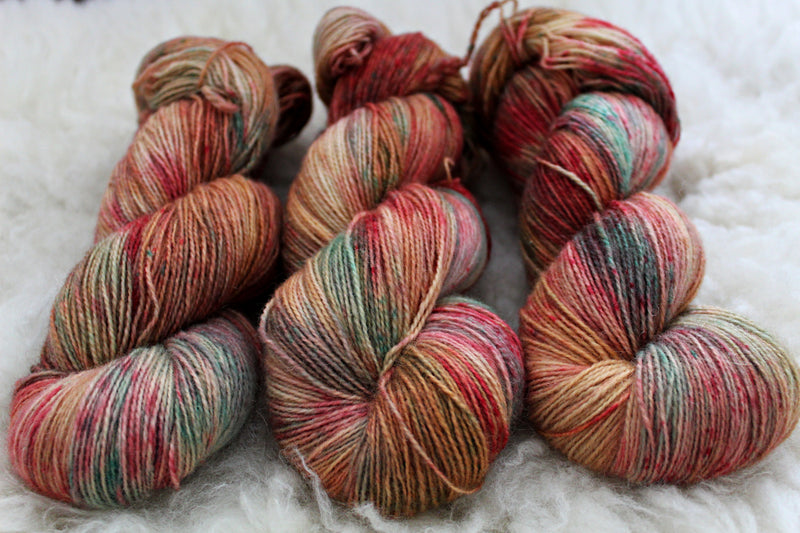 Dyed-to-Order - Kelly T - Non-Superwash - Fingering, Sport & DK Bases
