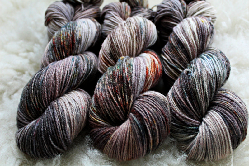 Dyed-to-Order - Mourning Dove - Non-Superwash - Fingering, Sport & DK Bases
