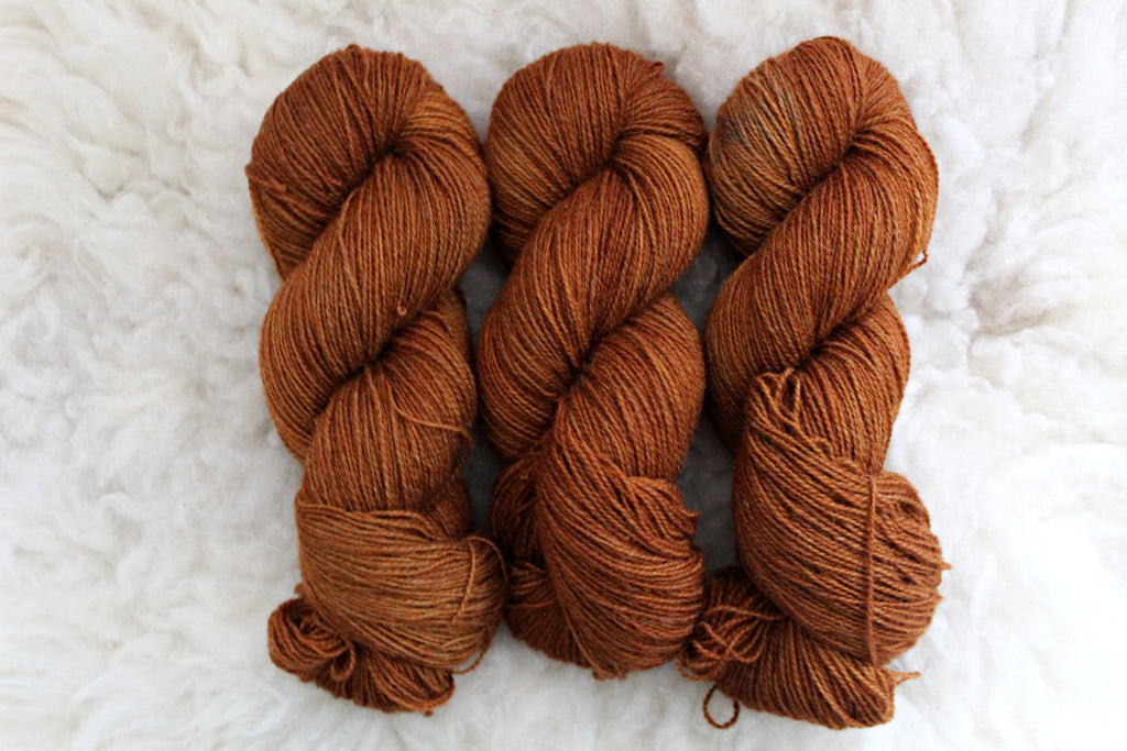 October - BFL Mohair - Fingering Weight - Non-Superwash