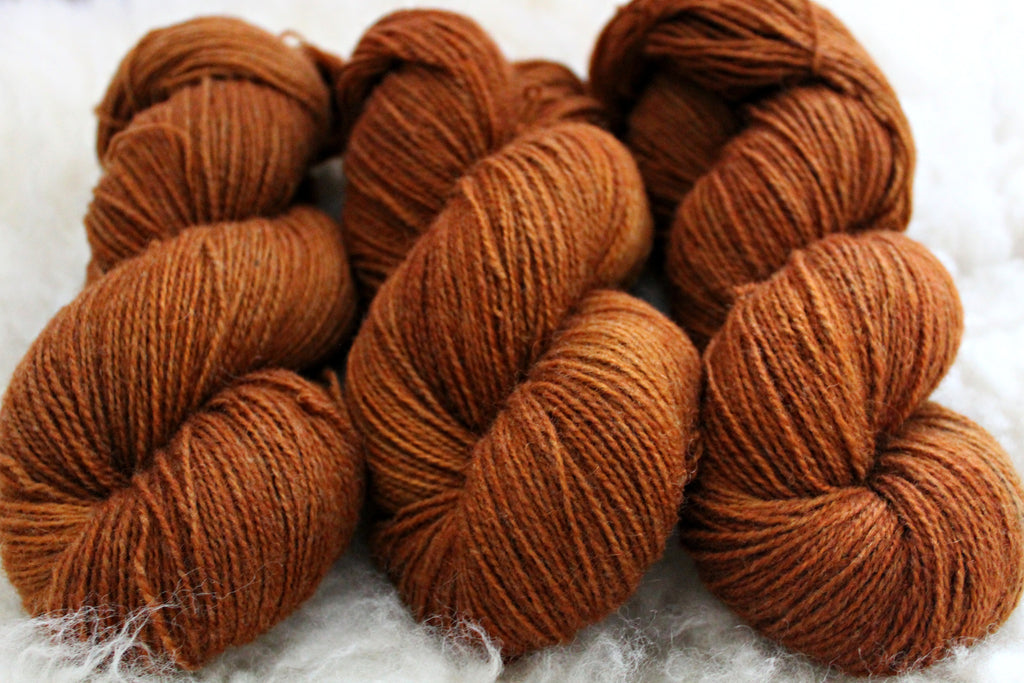 Dyed-to-Order - October - Non-Superwash - Fingering, Sport & DK Bases