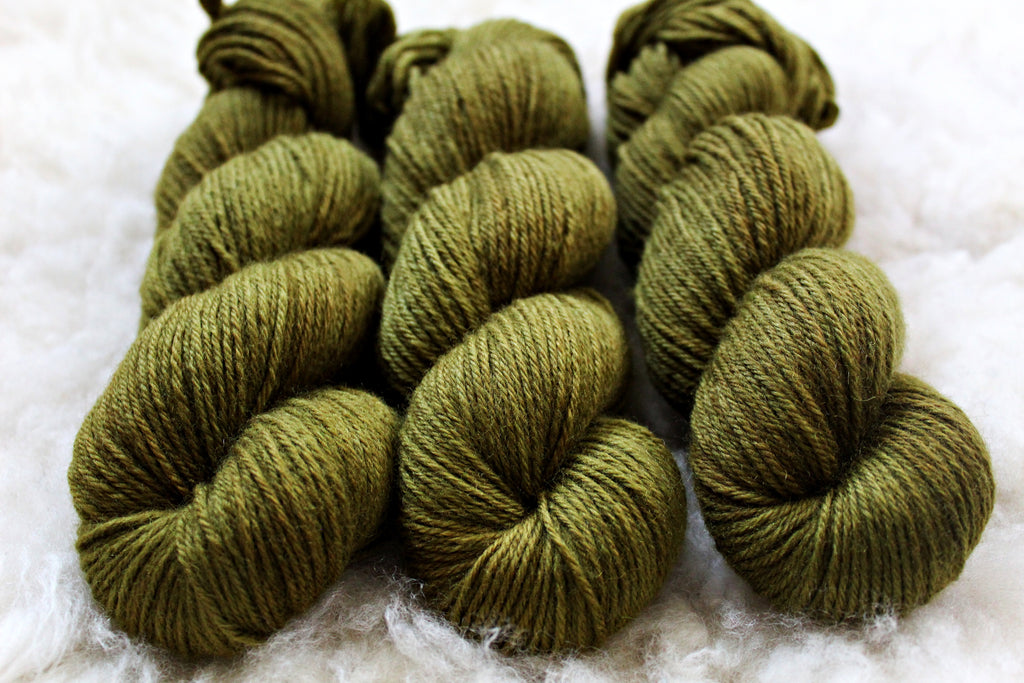 Olive - BFL DK - Bluefaced Leicester - DK Weight - Non Superwash
