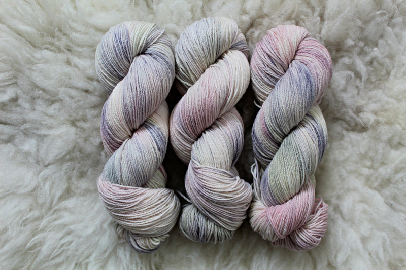 Pearl Aesthetic - High Twist Merino Sock - Fingering Weight - Non-Superwash