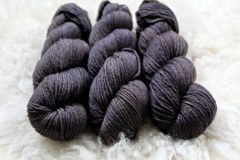 Pewter - BFL DK - Bluefaced Leicester - DK Weight - Non-Superwash