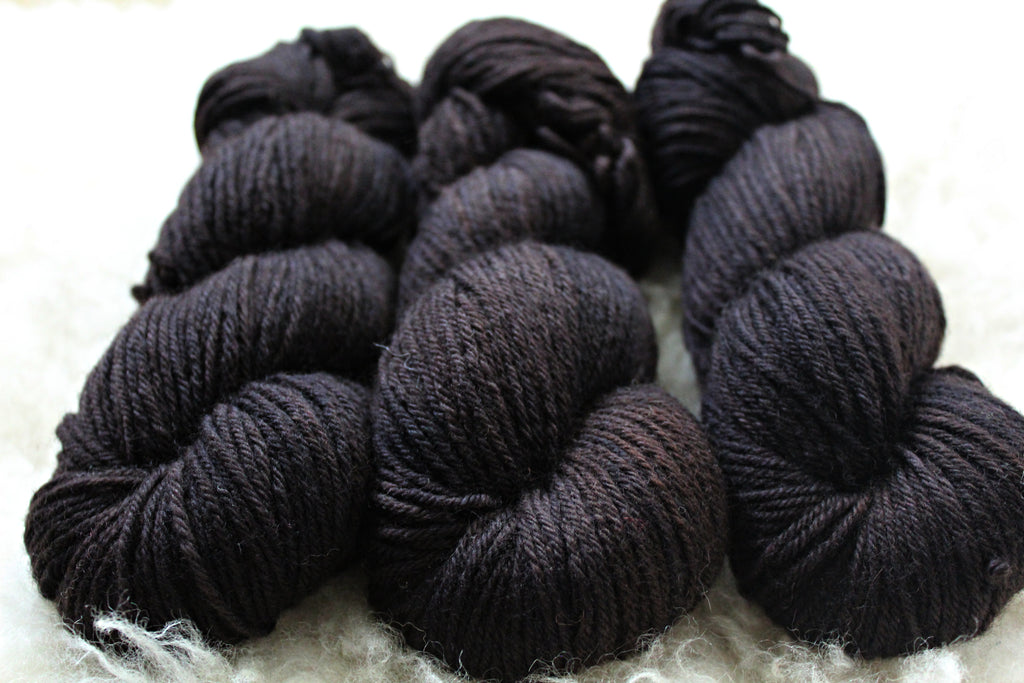 Dyed-to-Order - Pitch - Non-Superwash - Fingering, Sport & DK Bases
