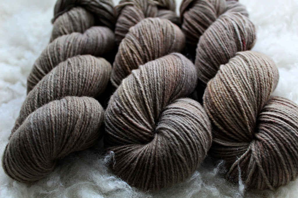 Dyed-to-Order - Portobello - Non-Superwash - Fingering, Sport & DK Bases