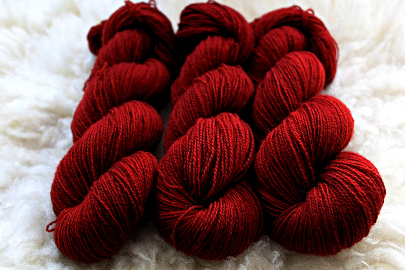 Red Brick Road - BFL Mohair (410 yds) - Fingering Weight - Non-Superwash