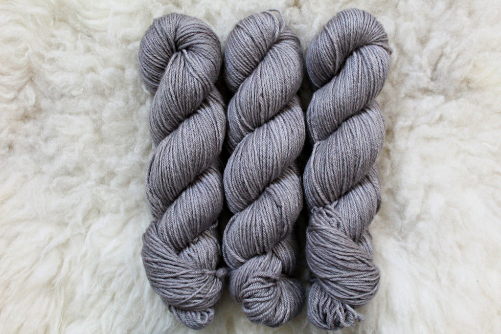 Silver - BFL DK - Bluefaced Leicester - DK Weight - Non Superwash