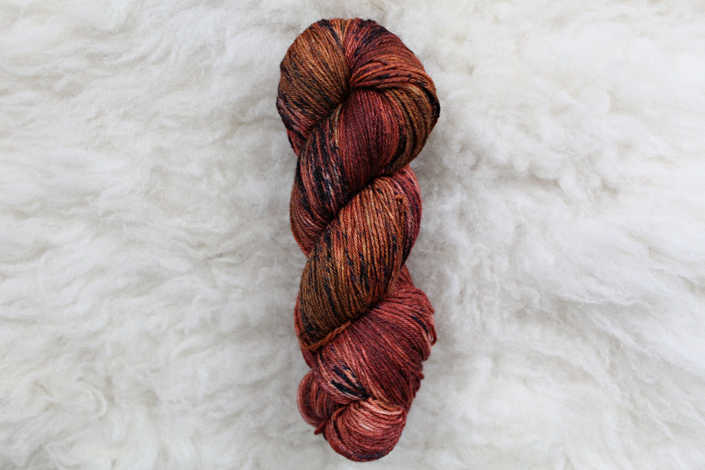 Dyed-to-Order - Vulcan - Non-Superwash - Fingering, Sport & DK Bases