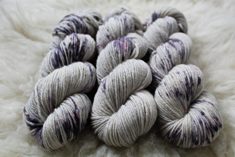 Dyed-to-Order - Wisteria - Non-Superwash - Fingering, Sport & DK Bases