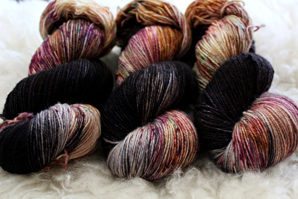 Witch Hair - BFL Mohair - Fingering Weight - Non-Superwash