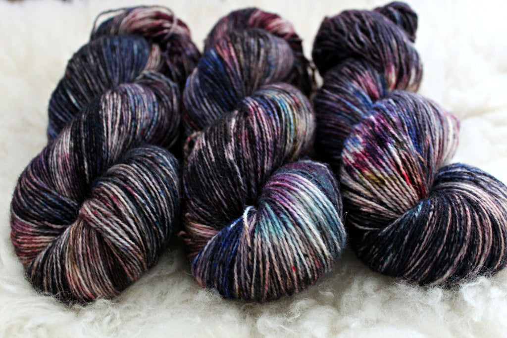 Werewolf Bar Mitzvah - BFL Mohair - Fingering Weight - Non-Superwash