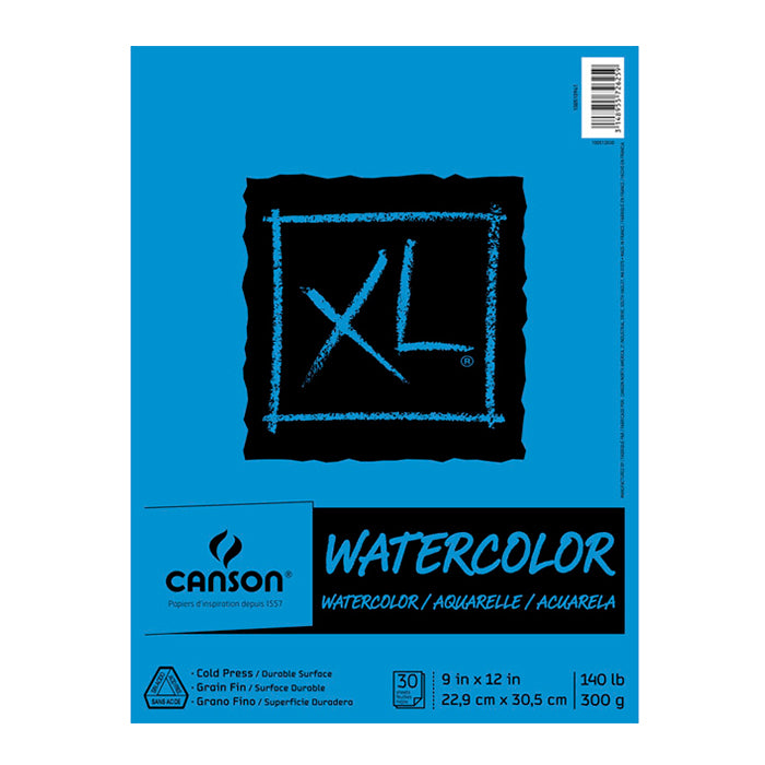 Block Canson XL Watercolor