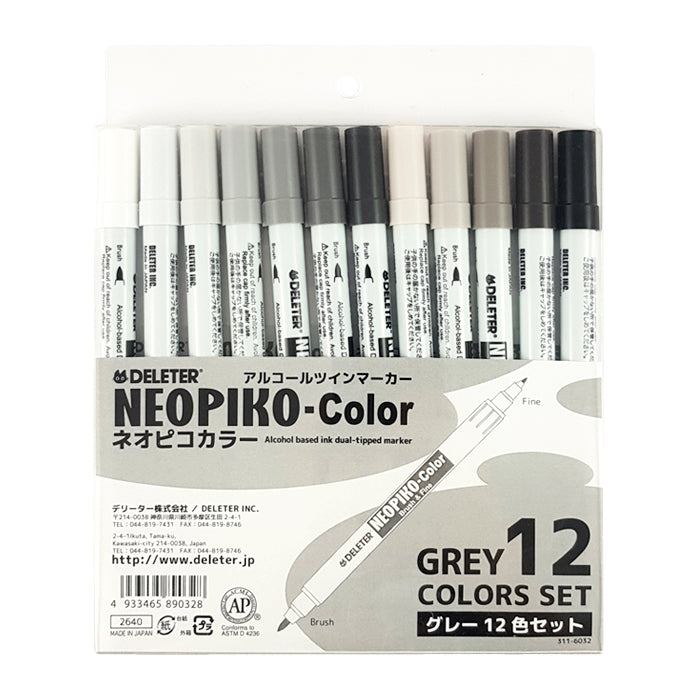 Set Neopiko Color con 12 Tonos Grises