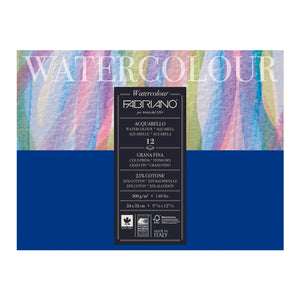 Block Fabriano Watercolor Cold Press 300g