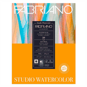 Block Fabriano Studio Watercolor Hot Press 200g