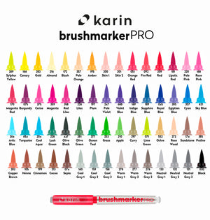 Brush pen Karin Brushmarker PRO