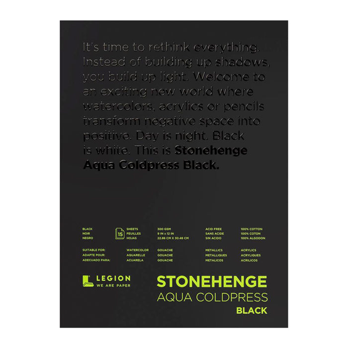 Block Legion Stonehenge Aqua Black