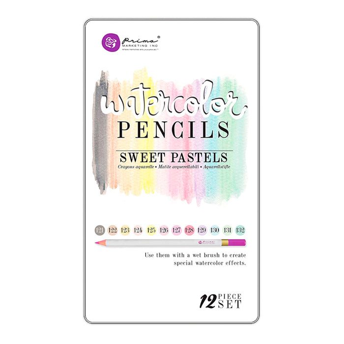 Colores Acuarelables Prima Watercolor Sweet Pastels